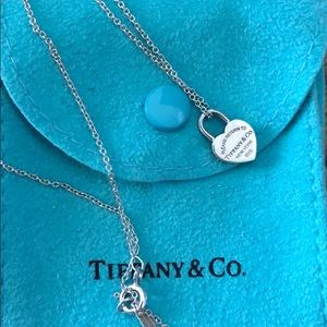 Authentic Tiffany and Co. necklace.